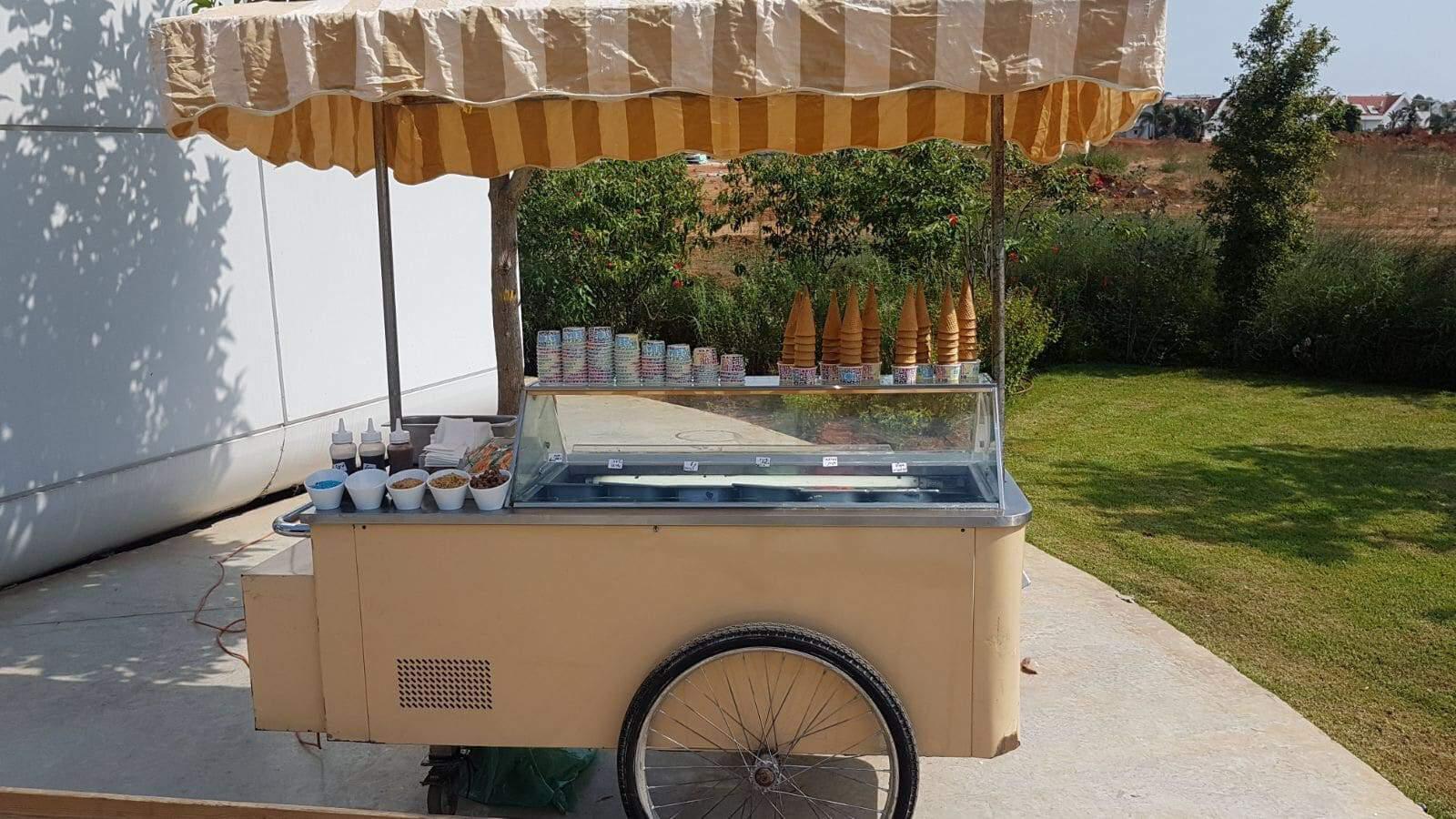 עגלת גלידה לאירועים