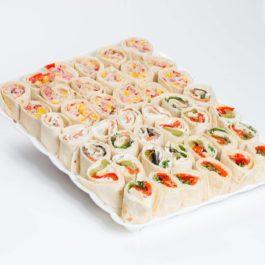 טורטיה בחיתוך סושי